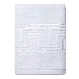 Now House by Jonathan Adler Gramercy Hand Towel in White