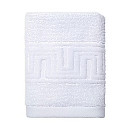 Now House by Jonathan Adler Gramercy Washcloth in White