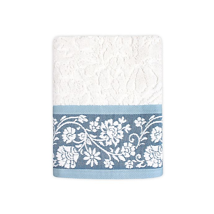 Alternate image 1 for Colordrift Bastille Floral Hand Towel
