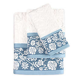 Colordrift Bastille Floral Bath Towel Collection