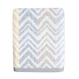 Colordrift Chevron Mirage Bath Towel in Yellow