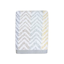 Colordrift Chevron Mirage Hand Towel in Yellow