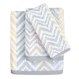 Colordrift Chevron Mirage Bath Towel Collection