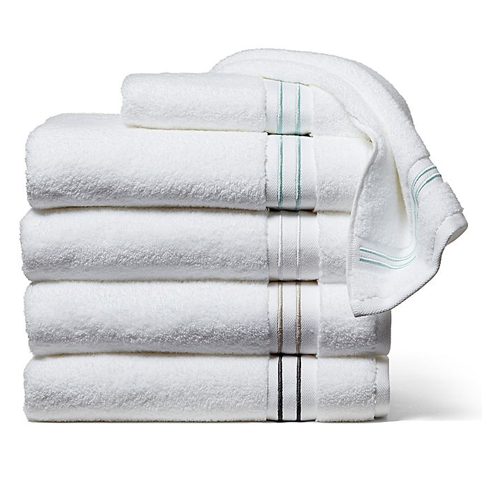 Alternate image 1 for Wamsutta® Hotel Micro-Cotton Bath Towel Collection