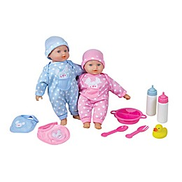 Lissi 10-Piece Twin Baby Doll Set