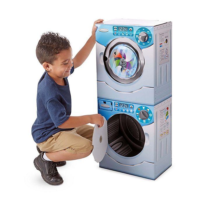 Alternate image 1 for Melissa & Doug® Washer/ Dryer Combo Play Appliance