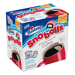 Hostess® Twinkies® Sno Balls™ Flavored Pods for Single Serve Coffee Makers 18-Count