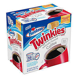 Hostess® Twinkies® Flavored Coffee Pods for Single Serve Coffee Makers 18-Count