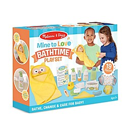 Melissa & Doug® Mine to Love Changing & Bathtime Play Set