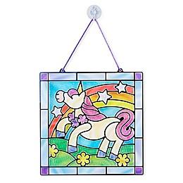 Melissa & Doug® Stained Glass Made Easy Rainbow & Hearts Activity Kit