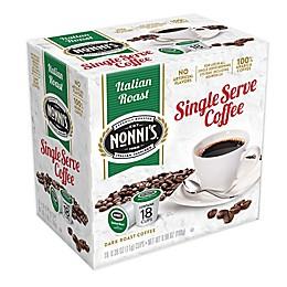 Nonni's® Italian Roast Coffee for Single Serve Coffee Makers 18-Count