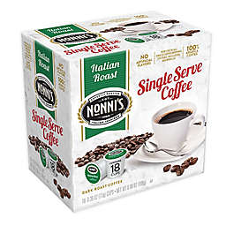 Nonni's® Italian Roast Coffee for Single Serve Coffee Makers 18-Count