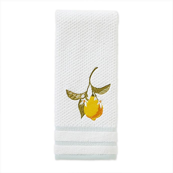 Alternate image 1 for Vern Yip by SKL Home Citrus Grove Hand Towel in Aqua