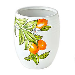 Vern Yip by SKL Home Citrus Grove Wastebasket in White
