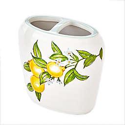 Vern Yip by SKL Home Citrus Grove Toothbrush Holder in White