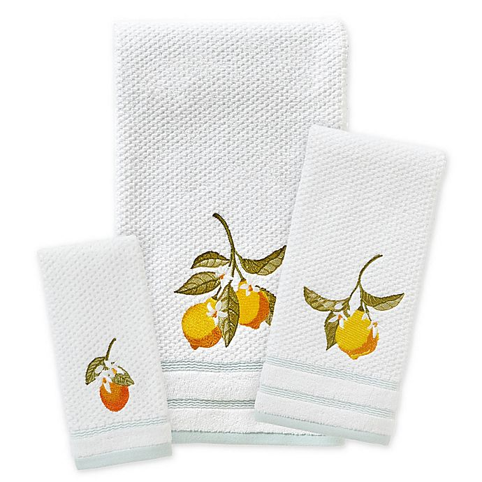 Alternate image 1 for Vern Yip by SKL Home Citrus Grove Bath Towel Collection