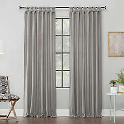 Archaeo® Washed Cotton Twist Tab Window Curtain