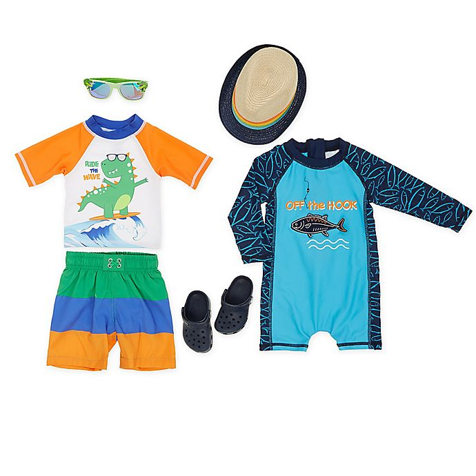 Alternate image 1 for Boy's Ride the Wave Style Collection