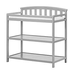 Child Craft™ Forever Eclectic™ Curved Top Changing Table in Cool Gray