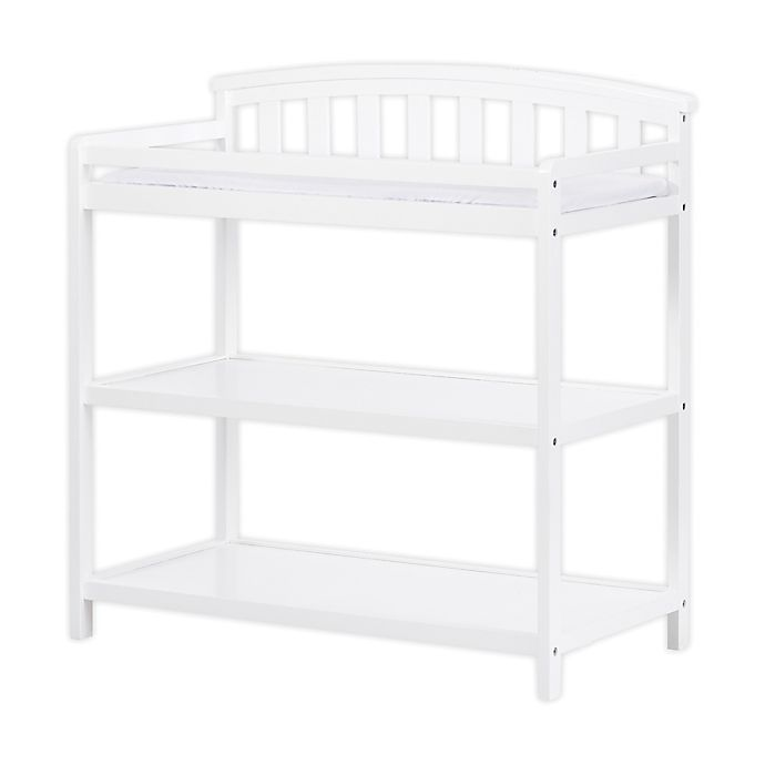 Alternate image 1 for Child Craft™ Forever Eclectic™ Curved Top Changing Table in Matte White