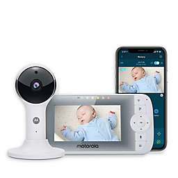 Motorola® LUX64 CONNECT 4.3-Inch Color LCD WiFi Video Monitor in White