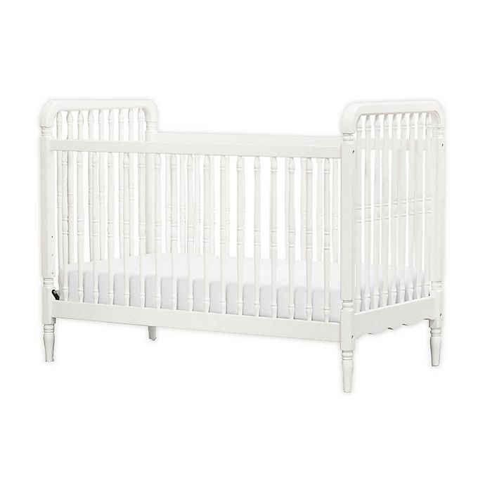 Alternate image 1 for Million Dollar Baby Classic Liberty 3-in-1 Convertible Spindle Crib in Warm White
