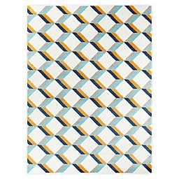 Hearthstone Riley 5'3 x 7' Area Rug in White