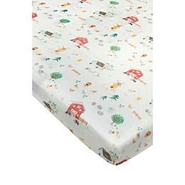 Loulou Lollipop™ Animal Farm Crib Sheet