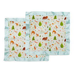 Loulou LOLLIPOP Forest Friends Security Blankets (Set of 2)