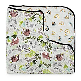 Loulou Lollipop Sloth Muslin Baby Quilt