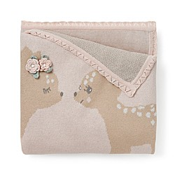 Elegant Baby® Cotton Stroller Blanket in Pink