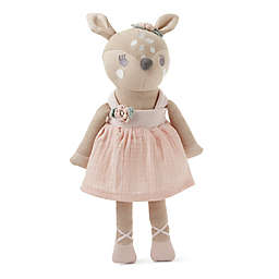 Elegant Baby® Fifi Fawn Baby Knit Toy in Blush