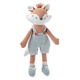 Elegant Baby® Felix Fox Baby Knit Toy in Terracotta