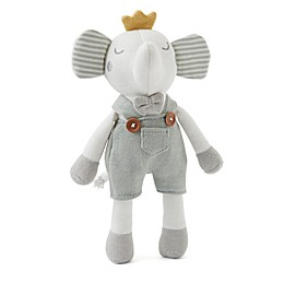Elegant Baby® Elephant Princ Baby Knit Toy in Sage