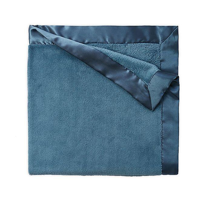 Alternate image 1 for Elegant Baby Fleece Stroller Blanket in Teal