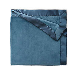 Elegant Baby Fleece Stroller Blanket in Teal