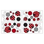 Sweet Jojo Designs Polka Dot Ladybug Wall Decals