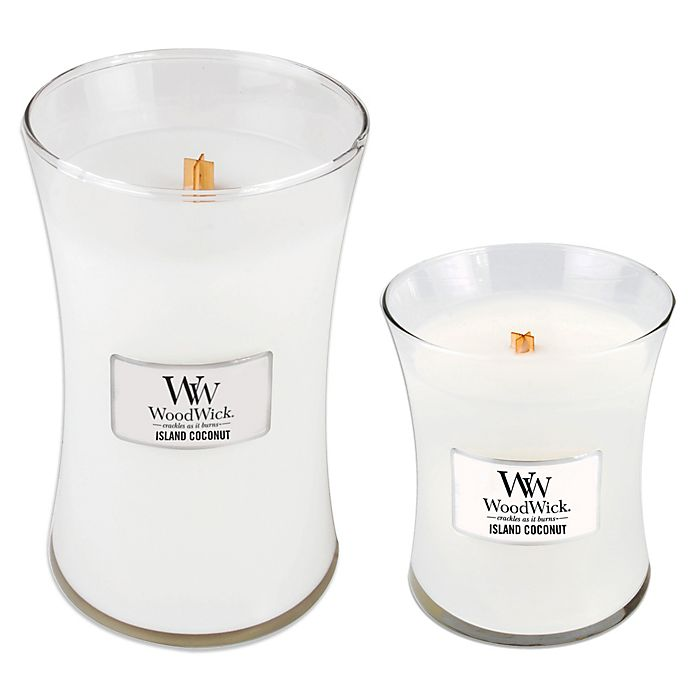 Alternate image 1 for WoodWick® Island Coconut Jar Candles