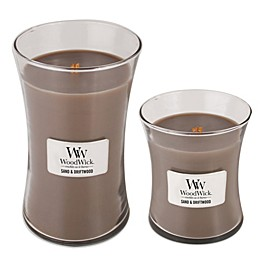 WoodWick® Sand & Driftwood Jar Candles