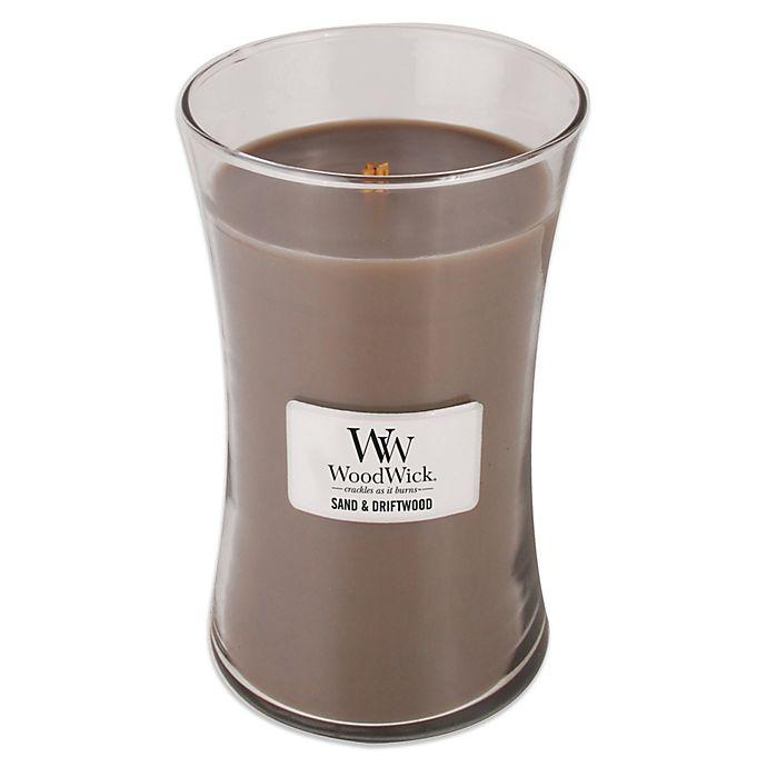 Alternate image 1 for WoodWick® Sand & Driftwood 22 oz. Jar Candle