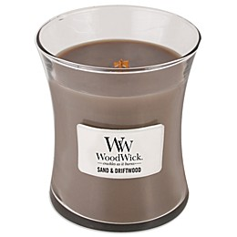 WoodWick® Sand & Driftwood 10 oz. Jar Candle