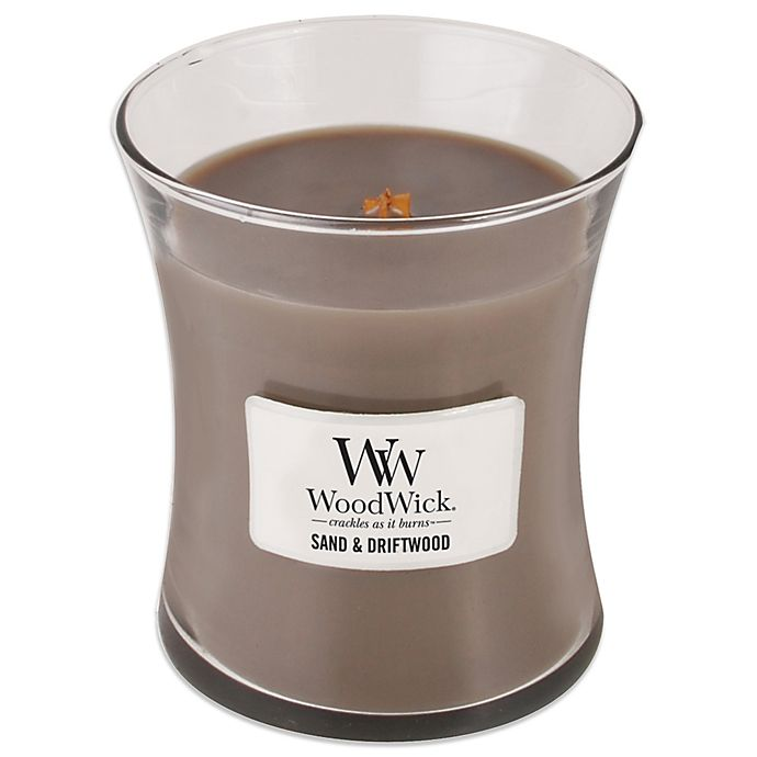 Alternate image 1 for WoodWick® Sand & Driftwood 10 oz. Jar Candle