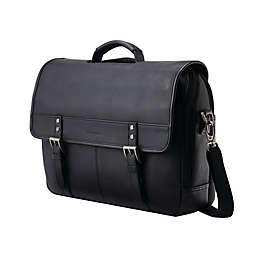 Samsonite® Classic Leather 16.25-Inch Messenger Bag
