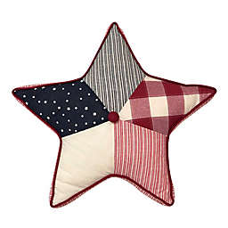 Levtex Home Meridian Hill Star Throw Pillow in Red/Navy