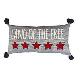 Levtex Home Meridian Hill Land Of The Free Oblong Indoor Throw Pillow