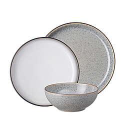 Denby Studio Grey 12-Piece Dinnerware Set in Grey/White