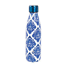 Manna™ Vogue® 17 oz. Double Wall Stainless Steel Bottle in Mosaic Blue