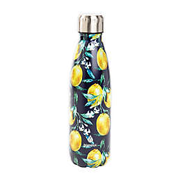 Manna™ Vogue® 17 oz. Double Wall Stainless Steel Bottle in Lemons