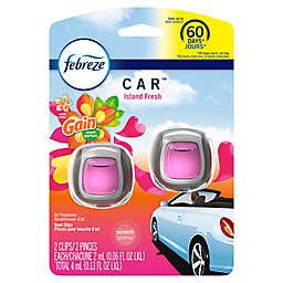 Febreze® 2-Count Car Vent Clip in Gain Island