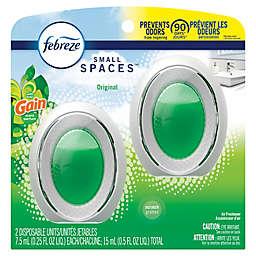 Febreze® 2-Count Small Spaces Air Freshener in Gain Original Scent
